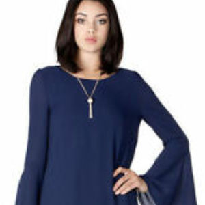 MM Couture Blue Dress. NWT. S